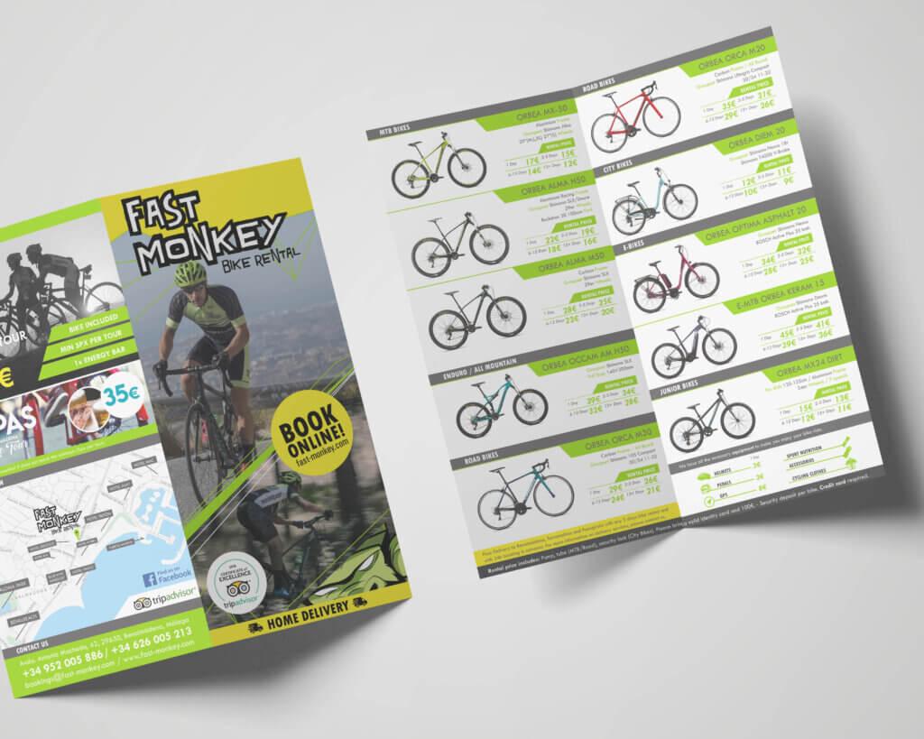 Fast Monkey Bike Rental | Branding / Identidad Corporativa / Desarrollo Gráfico
